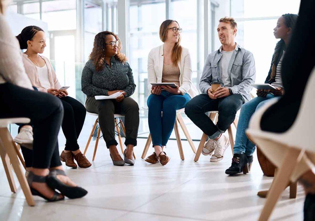 Divorce Resources Workshop group meeting