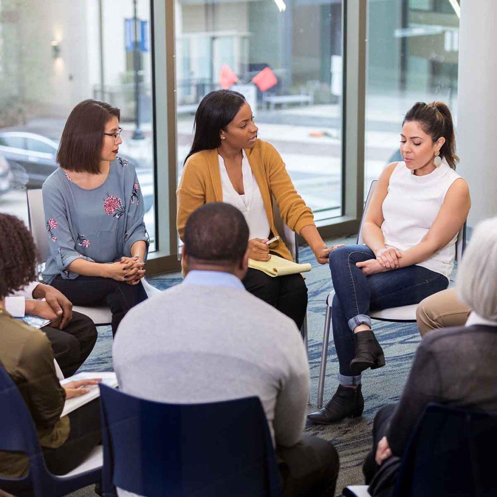 Divorce Resources Workshop session group